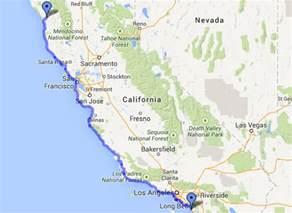 Highway 1 California Coast Map