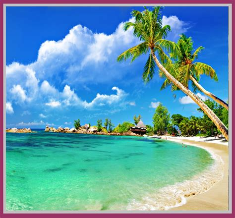 5 Free Desktop Wallpaper Beach Scenes