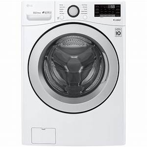 Lg Wm3500cw 4 5 Cu  Ft  Smart Wi-fi Enabled Front Load Washer