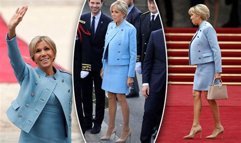 Melania Trump and French First Lady Brigitte Macron seem to be coordinating their outfits — and it's an unusual show of unity for the Trump White House... - Pulse