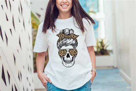 This listing includes all the possible file formats you'll ever need to use with all current and upcoming vinyl and die cutting machines. Skull mom life svg, messy bun, leopard, buffalo plaid ...