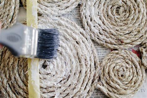 rope doormat diy diy rope coil doormat design sponge