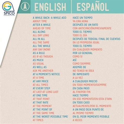 las 25 mejores ideas sobre frases comunes en ingles en