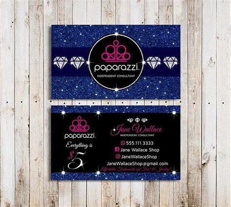 paparazzi business cards template paparazzi accessories