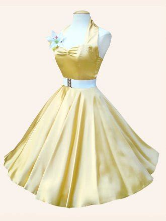 halterneck lemon satin dress women  vivien
