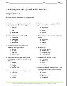 portuguese and in america printable choice quiz