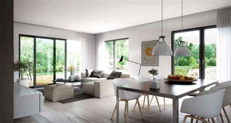 Moderne Häuser Innenausstattung kern haus hochwertige innenausstattung beim hausbau