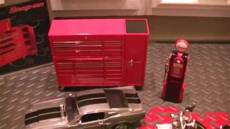 Snap-On Diecast Toolbox and Toolcabinet 1:8 Scale Banks ...