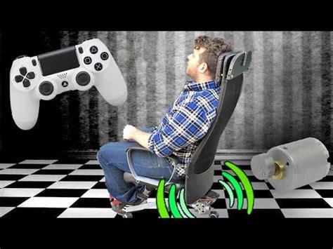 build  diy rumbling gaming chair