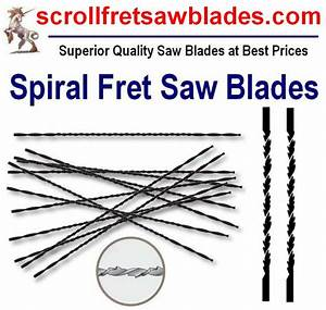Fret saw blades with Spiral Twist Teeth from Husnain