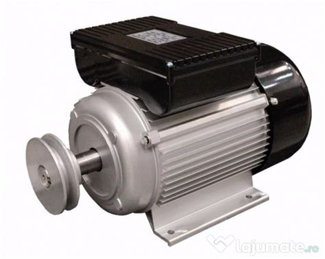 Motoare Electrice 220v by Motor Electric Monofazat 4kw 1500 Rotatii Bobinaj Cupru