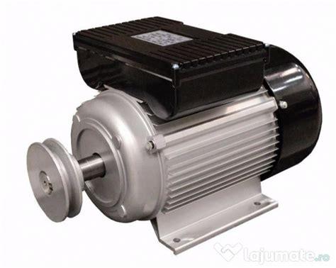 motor electric monofazat 4kw 1500 rotatii bobinaj cupru