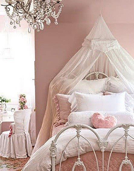pink shabby chic bedroom shabby chic fotos espaciohogar 16754