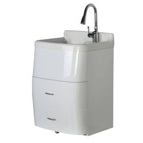 home depot laundry sink canada presenza deluxe utility sink and storage cabinet costco