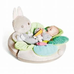 cale bebe tapis evolutif sensibul creation oxybul pour With tapis chambre bébé avec coussin de fleurs