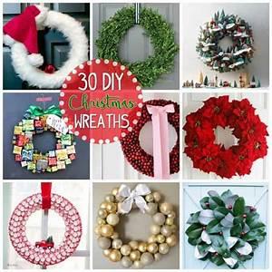 Christmas, Wreaths, 30, Diy, Christmas, Wreath, Ideas, You, Can, Make