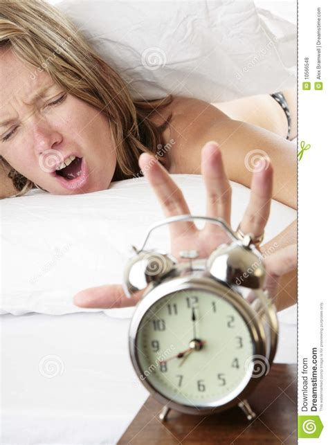 waking  late royalty  stock  image
