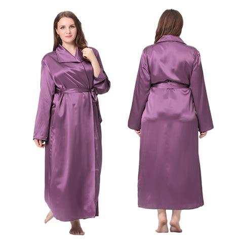 robe de chambre femme soie robe de chambre femme en soie 22 momme grande taille lilysilk