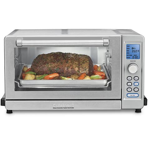 cuisine t deluxe convection toaster oven broiler cuisinart