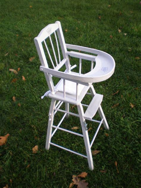 chaise haute en bois ancienne chaise haute bois jouet mzaol com