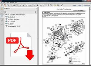 2009 Subaru Forester Ultimate Factory Oem Service Repair Manual   Wiring Diagram
