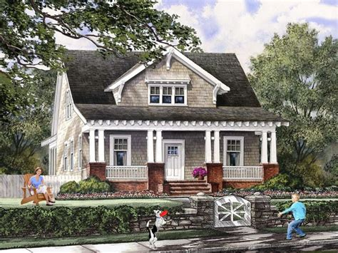 craftsman bungalow cottage house plans  craftsman