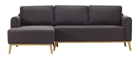 canapé gris anthracite pas cher canapé d 39 angle gauche scandinave halden pas cher canapé