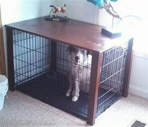 dog crate table diy success craft a holic pinterest With small dog crate table