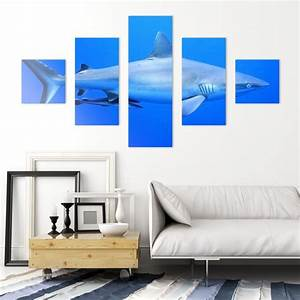 Tableau 5 Parties : tableau triptyque 5 tableaux personnalis sur toile canvas chassis bois 250 x 150 cm ~ Teatrodelosmanantiales.com Idées de Décoration