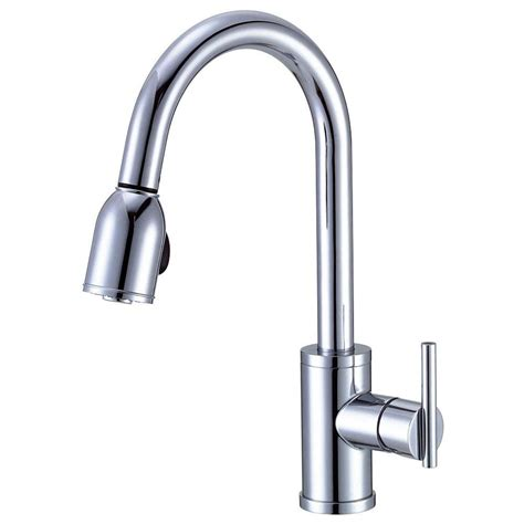 danze parma pull down single handle kitchen faucet