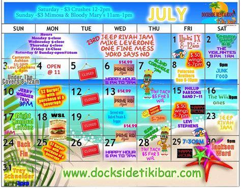 colonial beach calendar