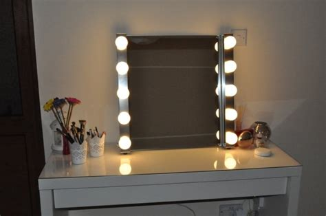 desk mirror with lights hollywood style vanity mirror with lights for dressing