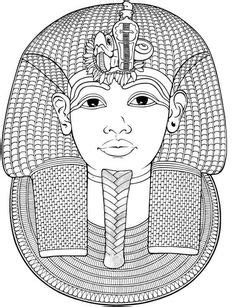 PHARAOH coloring pages - CLEOPATRA QUEEN OF EGYPT for kids