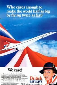 British Airways Concorde ad   Vintage poster   Pinterest ...