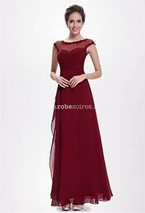 robe de cocktail longue bordeaux les tendances de la With robe de cocktail bordeaux
