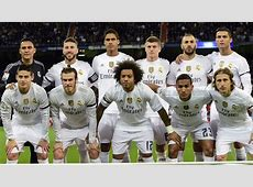 Real Madrid Barcelona La Liga line up Goalcom