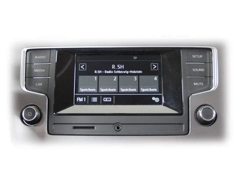 golf 7 radio radio quot composition touch quot vw golf 7 39936