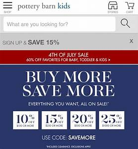 pottery barn coupons 15 off 2017 promo codes autos post With 20 pottery barn coupons