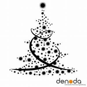 Tannenbaum Schwarz Weiß : weihnachtsbaum aus sternen wandtattoo ~ Orissabook.com Haus und Dekorationen