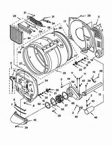 32 Kenmore Elite Front Load Washer Parts Diagram