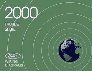 2000 Ford Taurus  Mercury Sable Wiring Diagrams Schematics