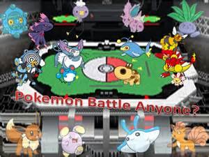 Pokemon Battle Anyone