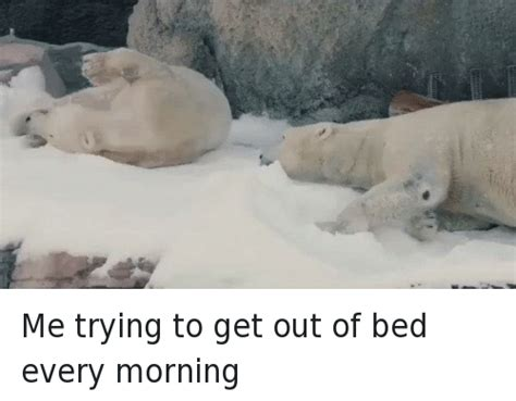 Get Out Of Bed Meme - me trying to get out of bed every morning funny meme on sizzle