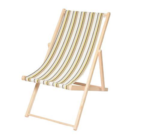 Élégant Toile Chaise Longue  Idées De Bain De Soleil
