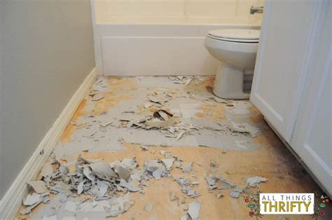 linoleum flooring how to install how to easily install peel and stick vinyl