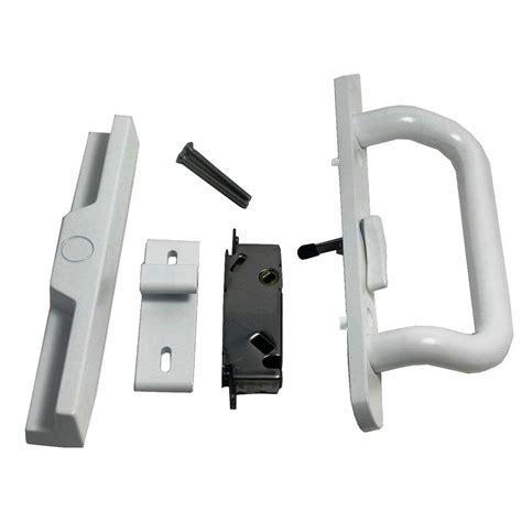 Backyard Door Lock - itouchless bio matic fingerprint silver left handle door