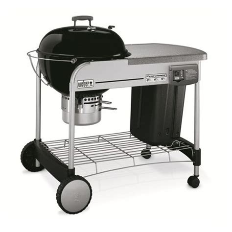 barbecue performer deluxe gbs gourmet black 216 57cm 224 charbon weber