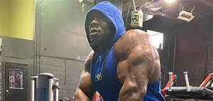 Kai Greene Shares First Training Video In 6 Months  Isolated Arm Training