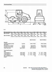Bomag Bw156  177  178  179 D Pd Dh Pdh