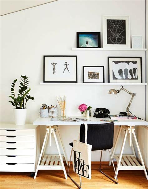 bureau de maison design bureau scandinave 50 idées pour un coin de travail pratique